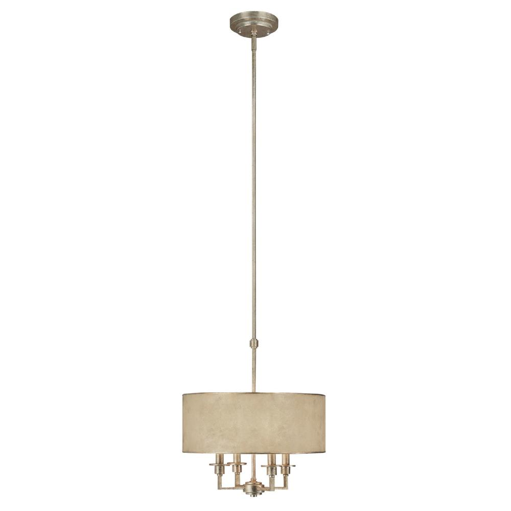 capital 3934wg 433 four light winter gold drum shade chandelier